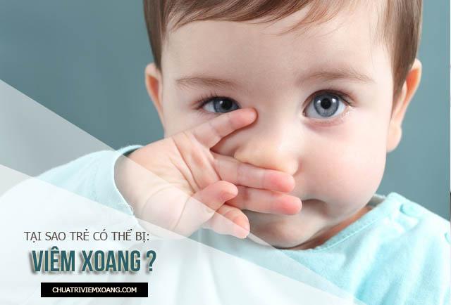 dấu hiệu viêm xoang ở trẻ em