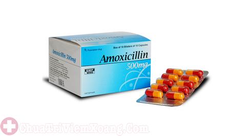 Thuốc kháng sinh điều trị viêm đa xoang