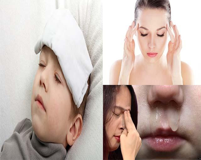 Triệu chứng viêm đa xoang