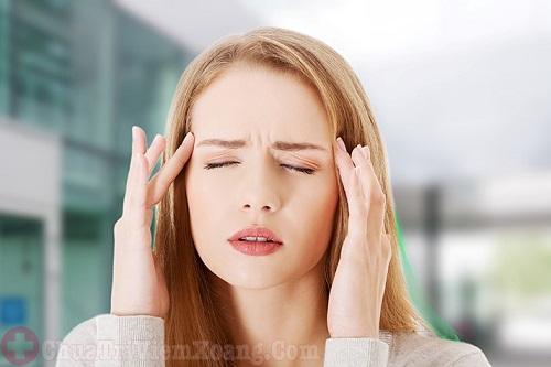 Đau đầu triệu chứng viêm mũi dị ứng