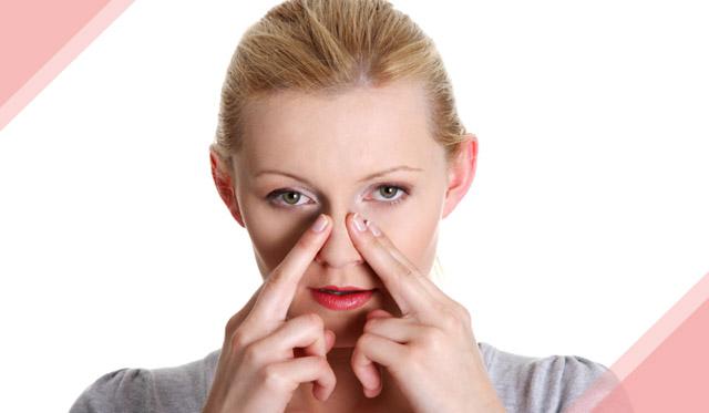 massage chữa nghẹt mũi do viêm xoang
