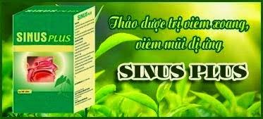 Thuốc Sinus Plus chữa bệnh viêm xoang