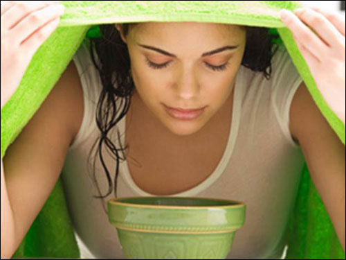 Cách chữa viêm xoang bằng xông hơi tinh dầu