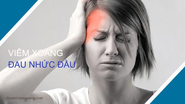 triệu chứng bệnh viêm xoang phổ biến