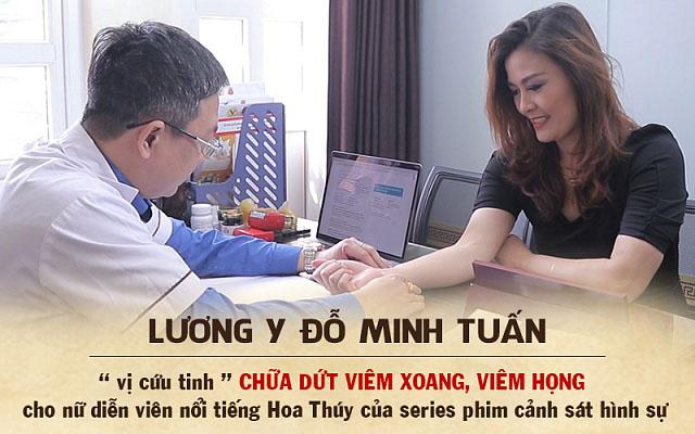 Nữ diễn viên Nguyễn Hoa Thúy đã tìm được phương pháp chữa khỏi hẳn bệnh viêm xoang, viêm mũi bằng thuốc nam Đỗ Minh Đường