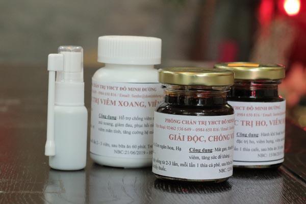 Hình ảnh thuốc viêm xoang Đỗ Minh Đường