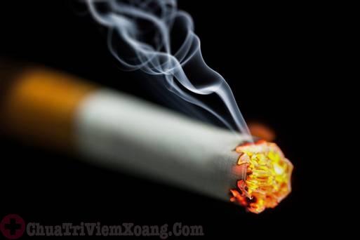Hút thuốc lá nguyên nhân gây viêm đa xoang