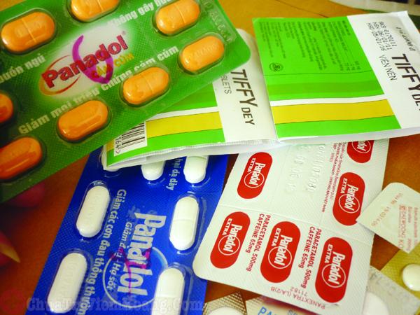 Thuốc trị viêm xoang bội nhiễm