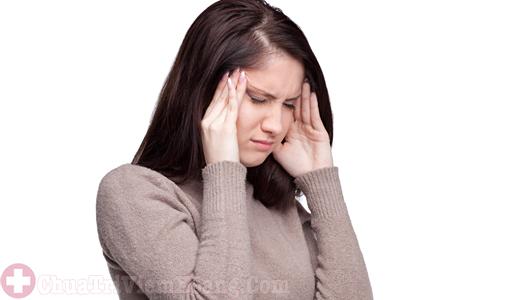 Đau đầu dấu hiệu của bệnh viêm đa xoang