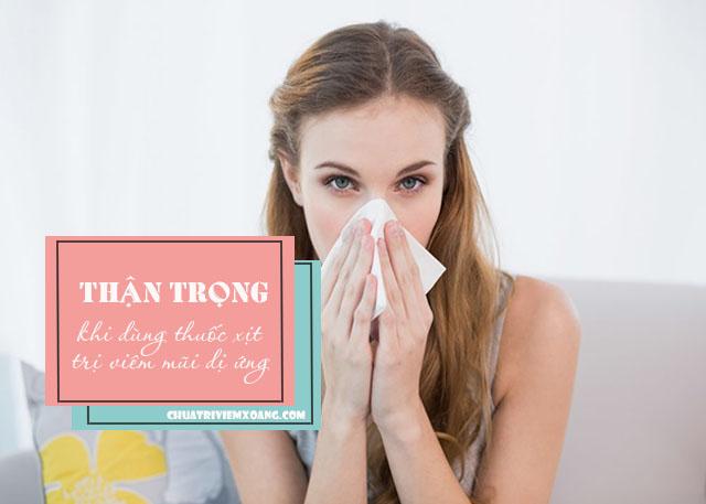 thuốc xịt mũi trị viêm mũi dị ứng