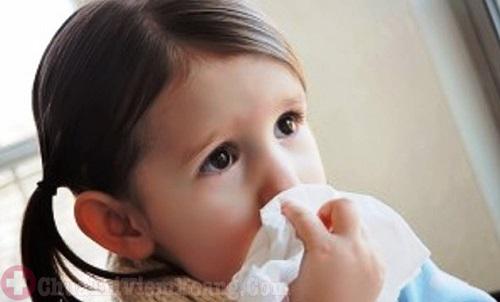 Viêm mũi dị ứng ở trẻ nhỏ