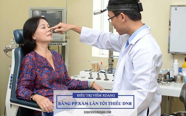 trị viêm xoang bằng phương pháp xâm lấn tối thiểu DNR