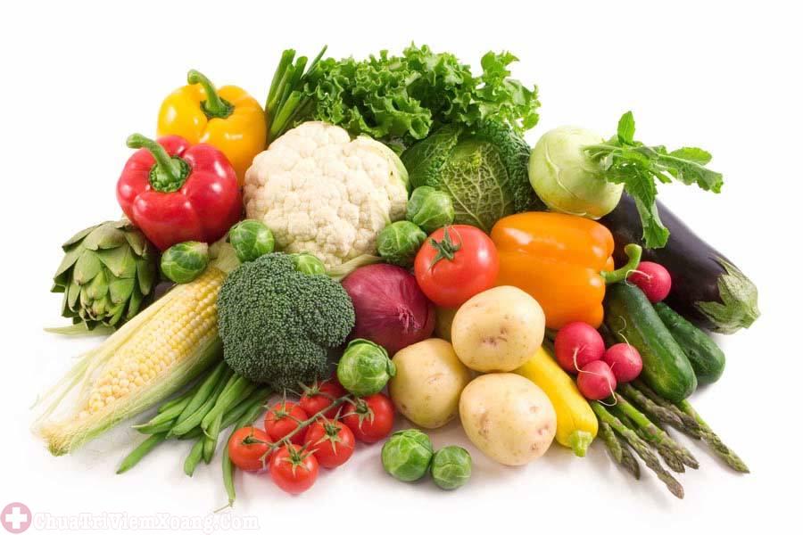 Tăng cường rau củ quả trong thực đơnsớm thoát khỏi bệnh viêm xoang