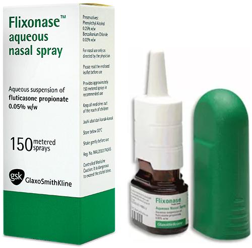 Thuốc xịt trị viêm mũi dị ứng Flixonase