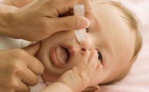 phòng tránh viêm mũi ở trẻ sơ sinh