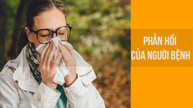 nước muối chữa viêm mũi dị ứng hiệu quả