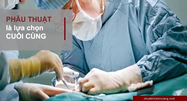 điều trị viêm xoang hàm bằng phẫu thuật