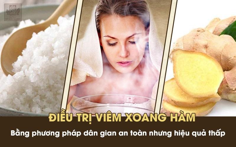 Mẹo chữa bệnh đơn giản tại nhà