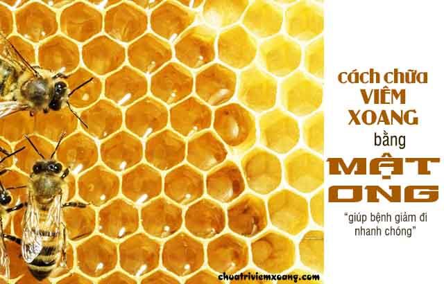 Chữa bệnh viêm xoang bằng mật ong - giảm bệnh nhanh chóng