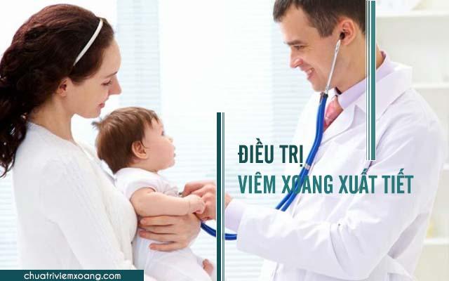 cách chữa viêm xoang xuất tiết ở trẻ