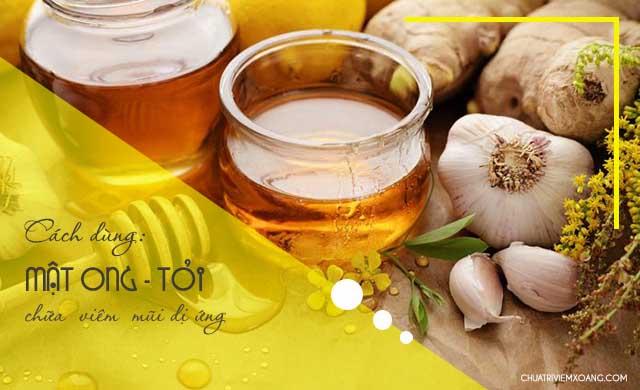 tỏi mật ong chữa viem mũi dị ứng