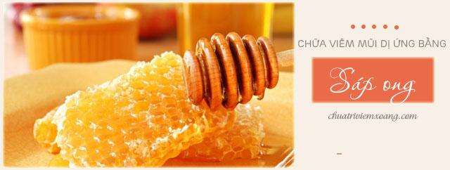 Sáp ong chữa viêm mũi dị ứng