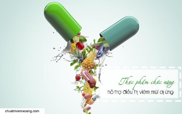 thực phẩm chức năng chữa viêm mũi dị ứng