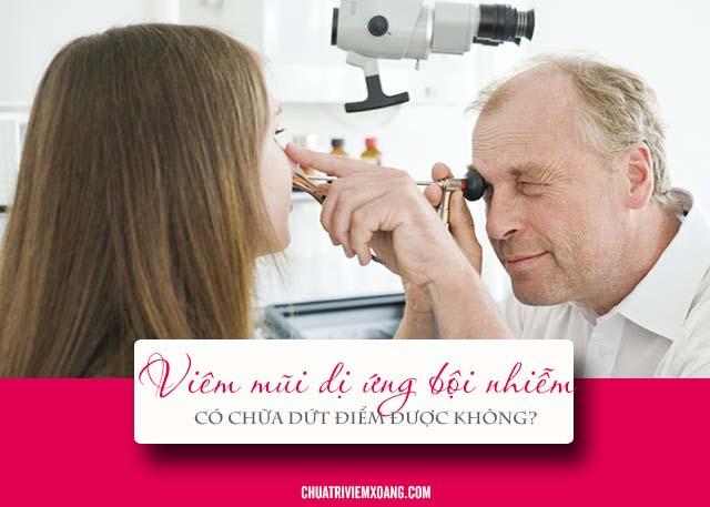 Bệnh viêm mũi dị ứng bội nhiễm