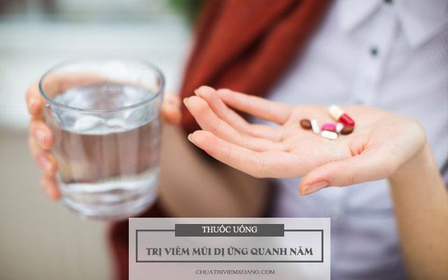 thuốc trị viêm mũi dị ứng quanh năm