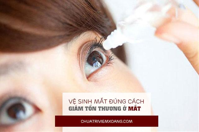 chảy nước mắt do viêm mũi dị ứng