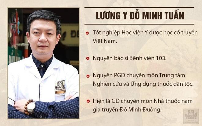 Bác sĩ Đỗ Minh Tuấn - chuyên gia tai mũi họng giải đáp về bệnh