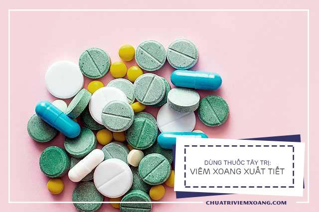Thuốc trị viêm xoang xuất tiết