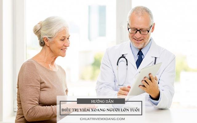điều trị bệnh viêm xoang ở người lớn tuổi