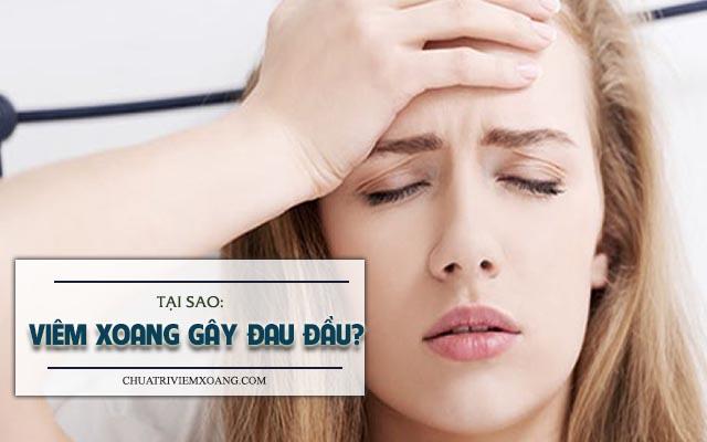 Tại sao viêm xoang gây đau đầu