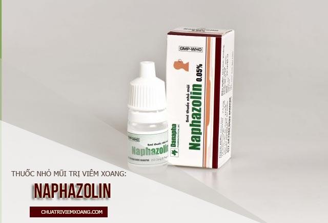 Thuốc nhỏ mũi chữa viêm xoang nào tốt