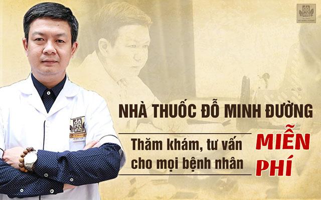 Nhà thuốc Đỗ Minh Đường thăm khám miễn phí cho mọi đối tượng người bệnh