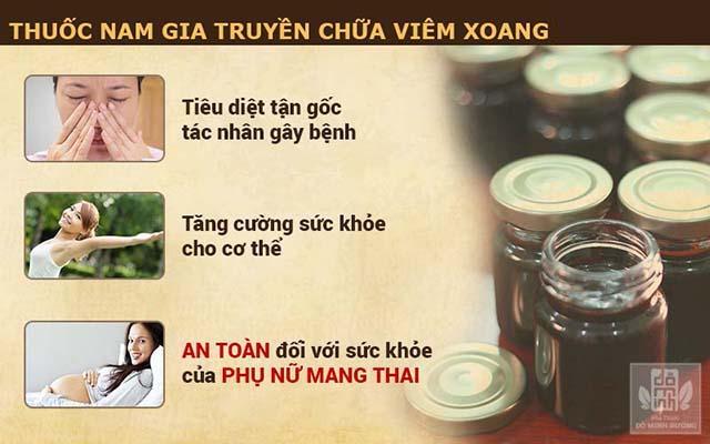 Công dụng của bài thuốc nam gia truyền chữa viêm xoang dòng họ Đỗ Minh