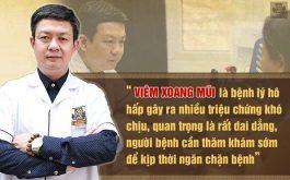 Lương y Đỗ Minh Tuấn chia sẻ về bệnh viêm xoang mũi