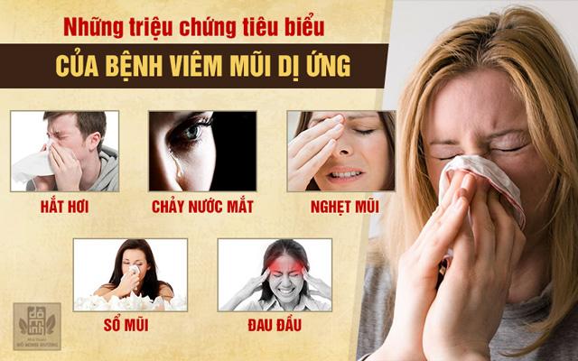 Những dấu hiệu bệnh viêm mũi dị ứng khi mang thai, sau sinh