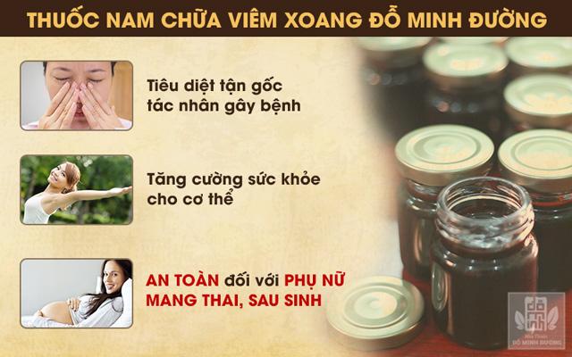 Bài thuốc chữa viêm xoang ở phụ nữ mang thai, sau sinh của Đỗ Minh Đường