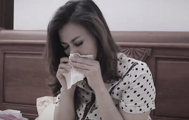 Bệnh viêm xoang khiến nữ diễn viên luôn trong tình trạng mệt mỏi