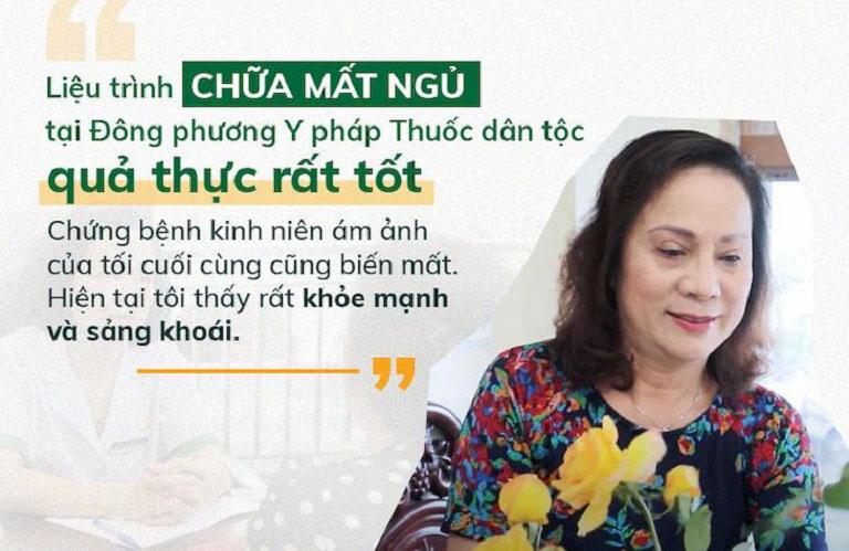 NS Hương Dung đánh giá cao hiệu quả điều trị và chất lượng dịch vụ tại Trung tâm Đông phương Y pháp
